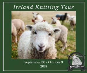 Ireland Knitting Tour