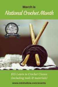 Crochet Class at MHF