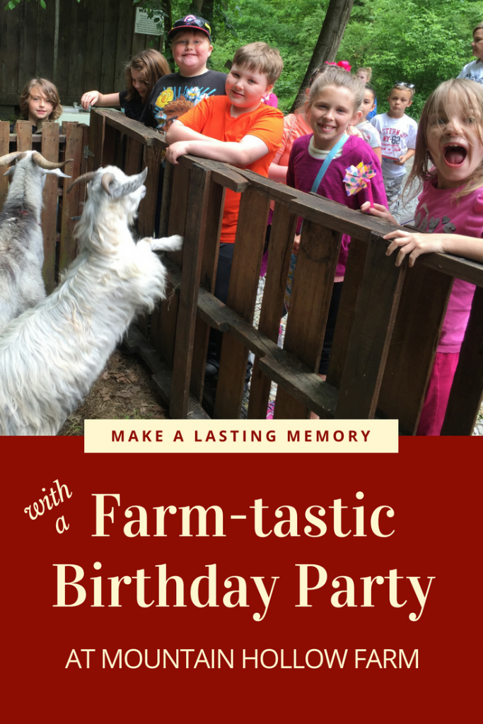 Make lasting memories with a Farm-tastic Birthday party at Mountain Hollow Farm