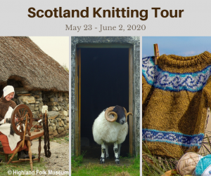 Scotland Knitting Tour