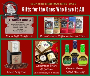 Gifts for Those Who Have Everything