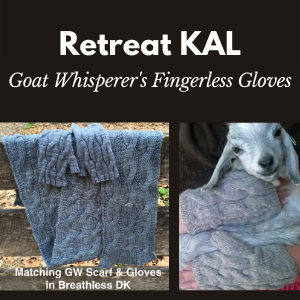 Goat Whisperer's Fingerless Gloves KAL