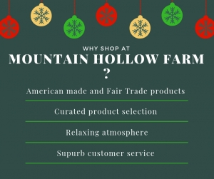Why Shop at Mountain Hollow Farm